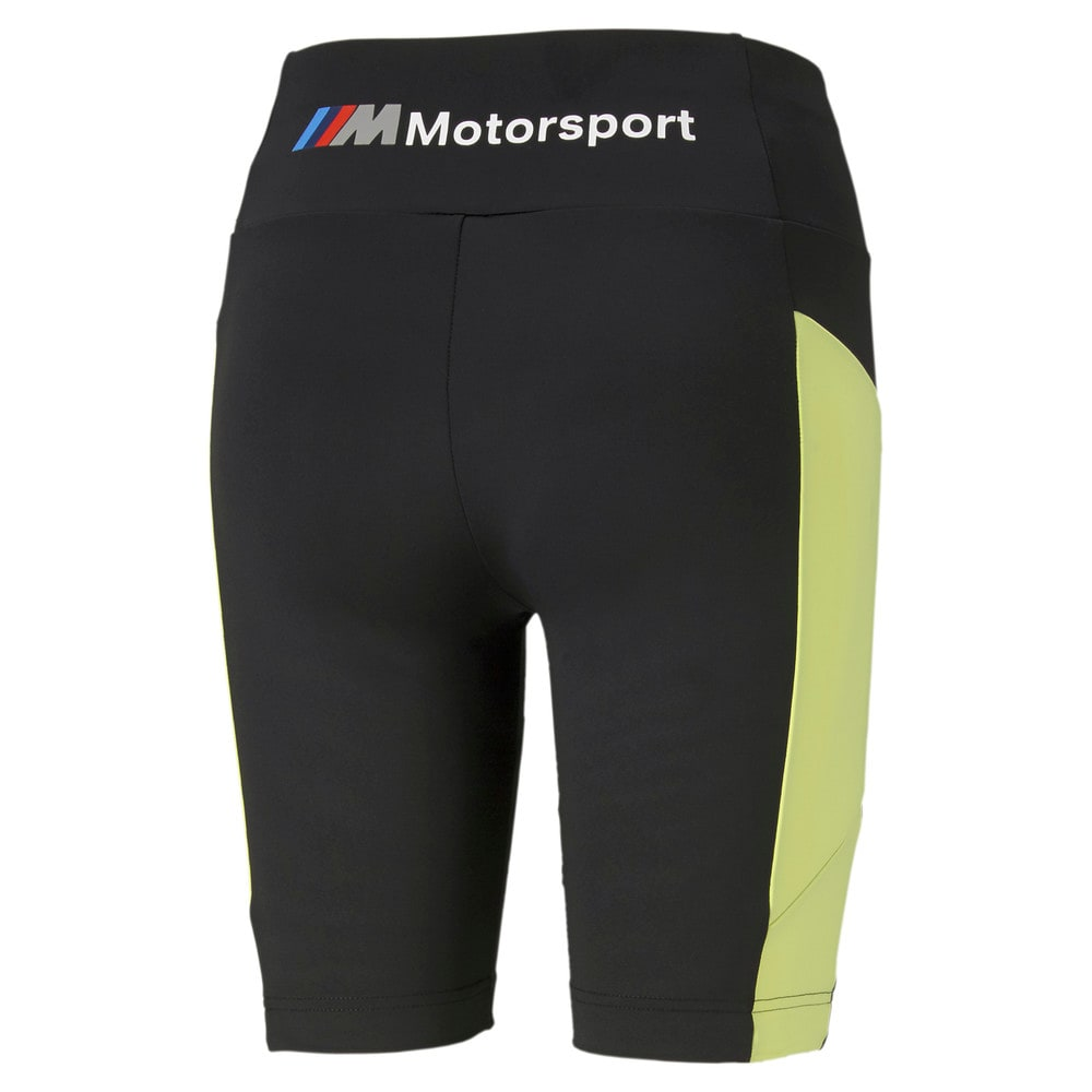 Изображение Puma Шорты BMW M Motorsport Women's Street Shorts #2: SOFT FLUO YELLOW