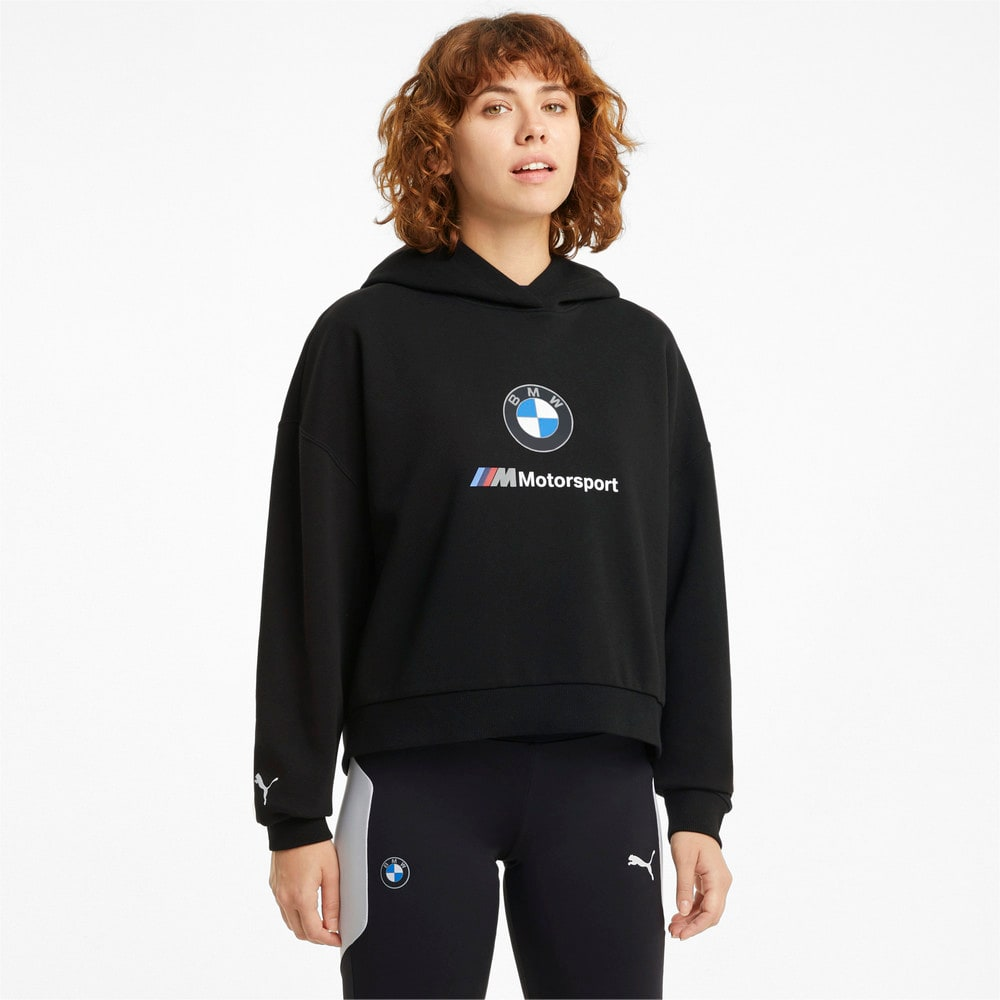 Зображення Puma Толстовка BMW M Motorsport Essentials Women's Hoodie #1