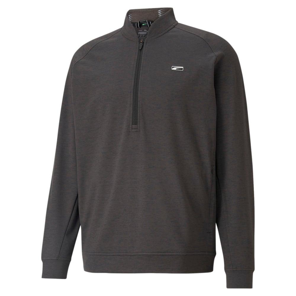 Image Puma CLOUDSPUN Moving Day Quarter-Zip Men's Golf Sweater #1