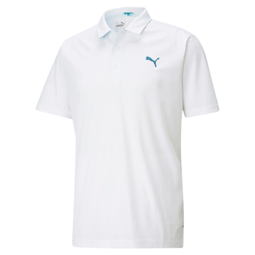 Image Puma Tech Pique Palmetto Men's Golf Polo Shirt #1