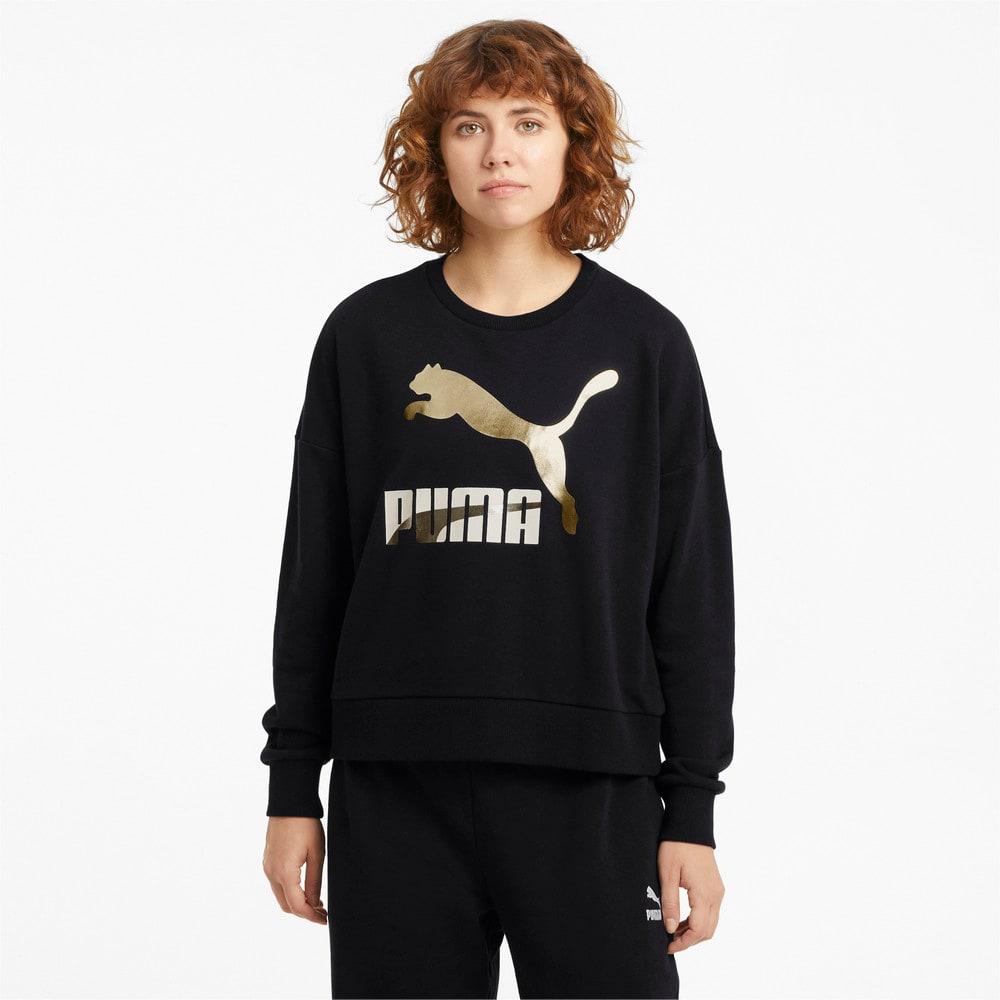 Image Puma Classics Logo Crew Neck Women's Sweater #1