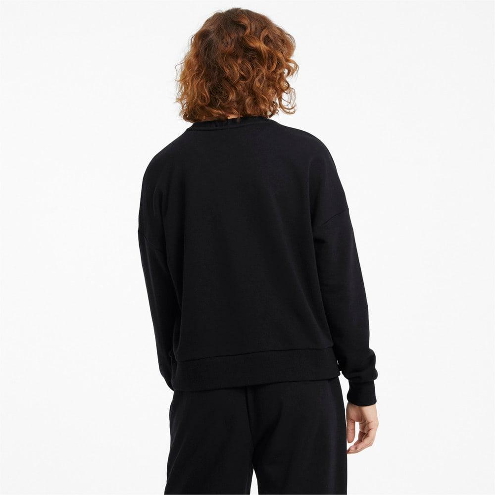 Imagen PUMA Polerón con logotipo y cuello redondo para mujer Classics #2