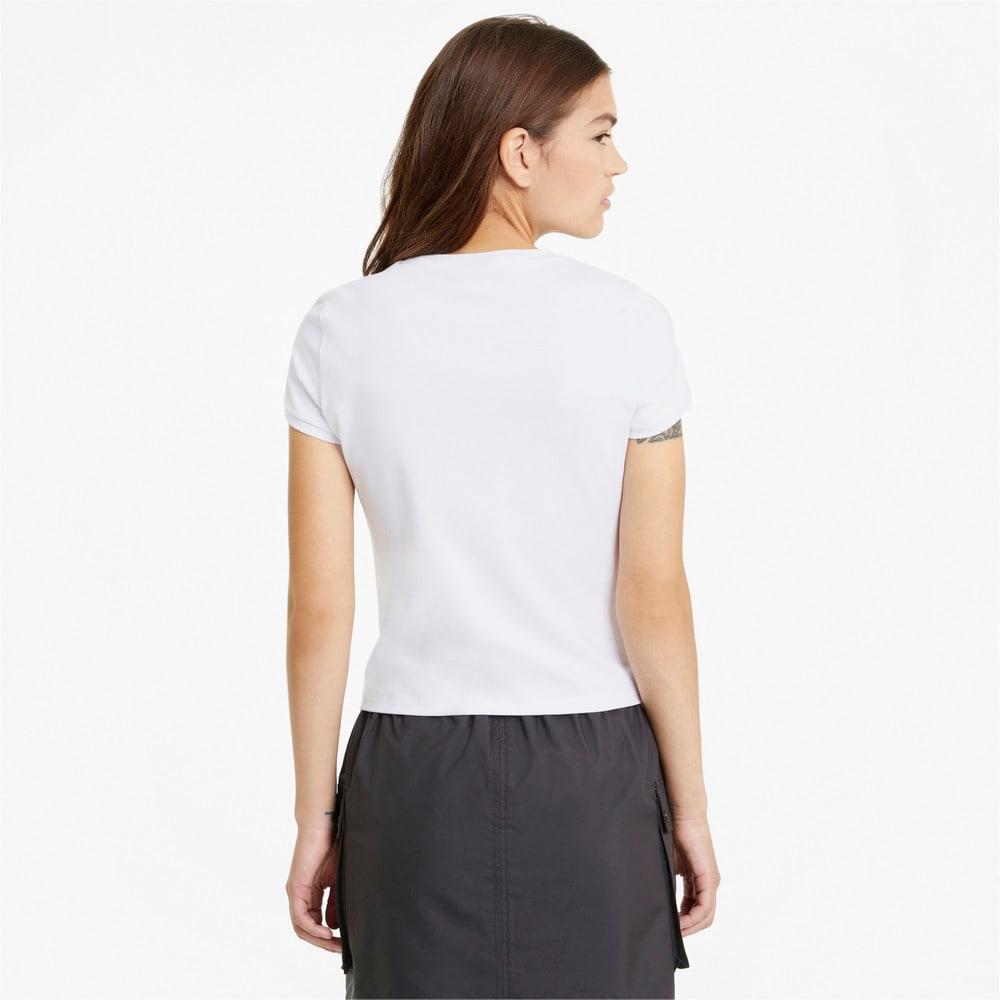 Image PUMA Camiseta Classics Fitted Feminina #2