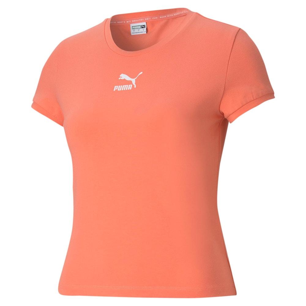 Изображение Puma Футболка Classics Fitted Women's Tee #1