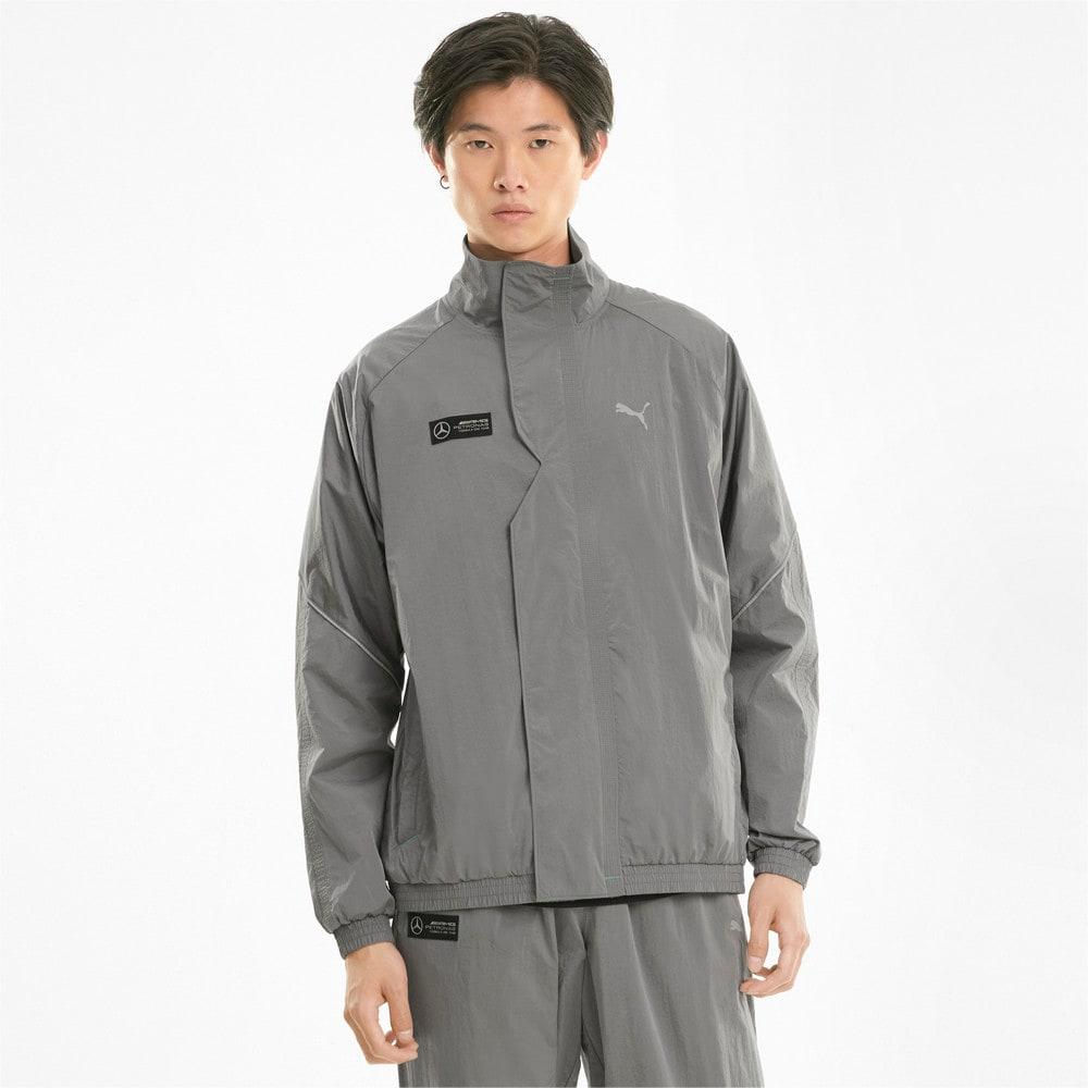 Изображение Puma Куртка Mercedes F1 Street Woven Men's Jacket #1