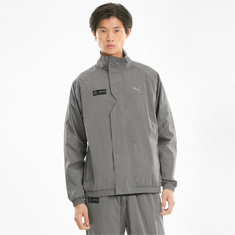 Image Puma Mercedes F1 Street Woven Men's Jacket #1