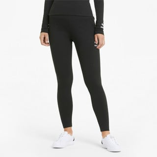 Изображение Puma Леггинсы Classics High Waist Ribbed Women's Leggings