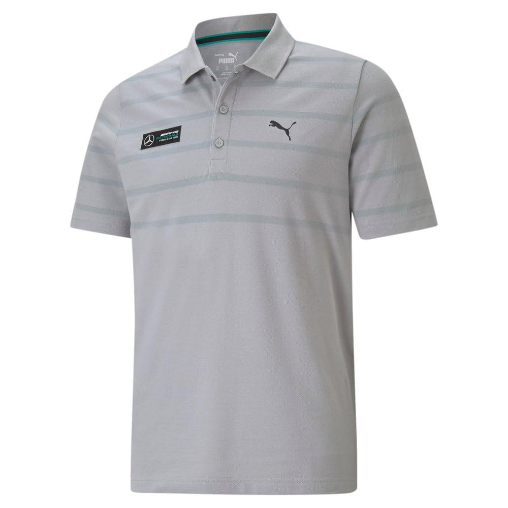 Görüntü Puma Mercedes F1 STRIPED Erkek Polo Shirt #1