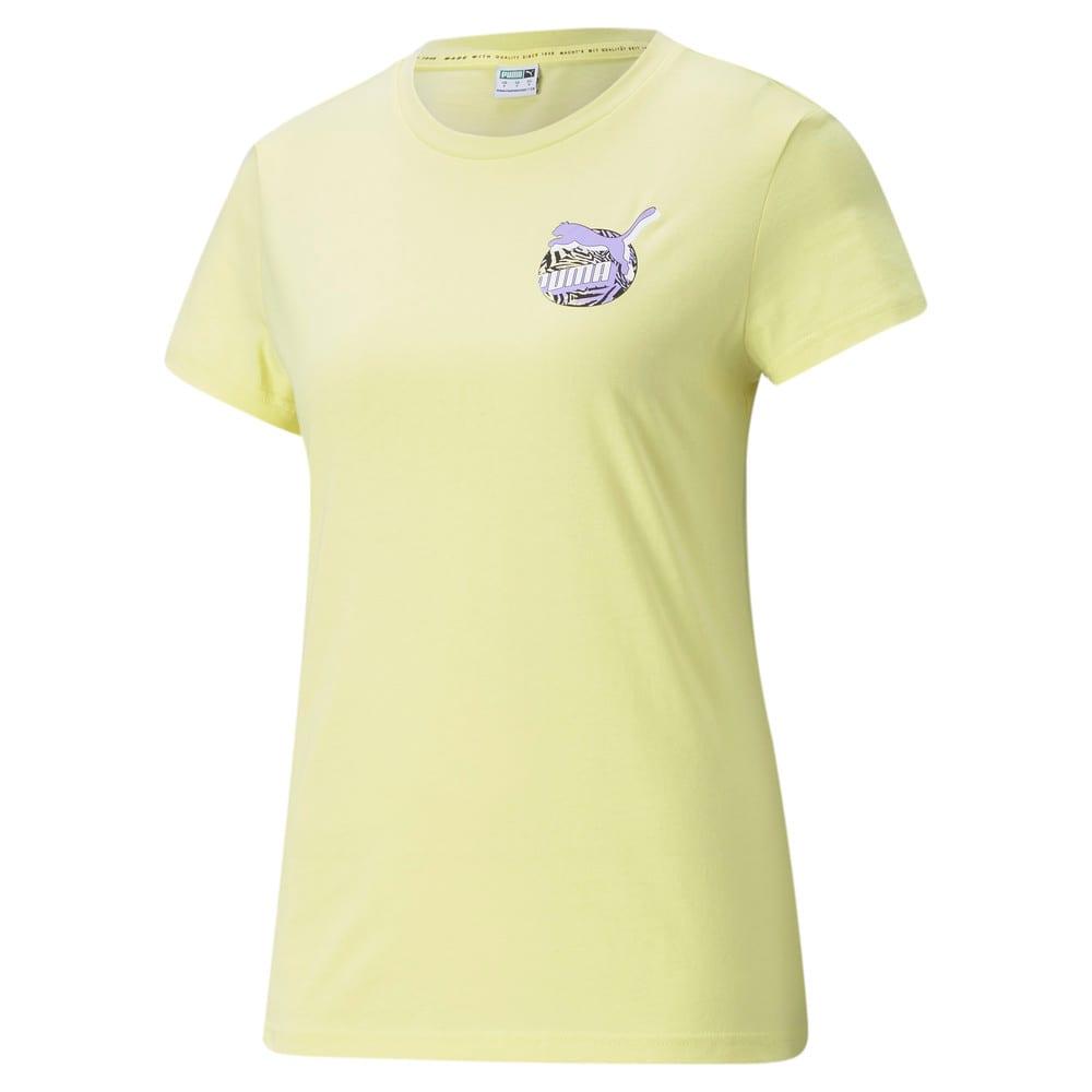 Görüntü Puma CG GRAPHIC Kadın T-shirt #1