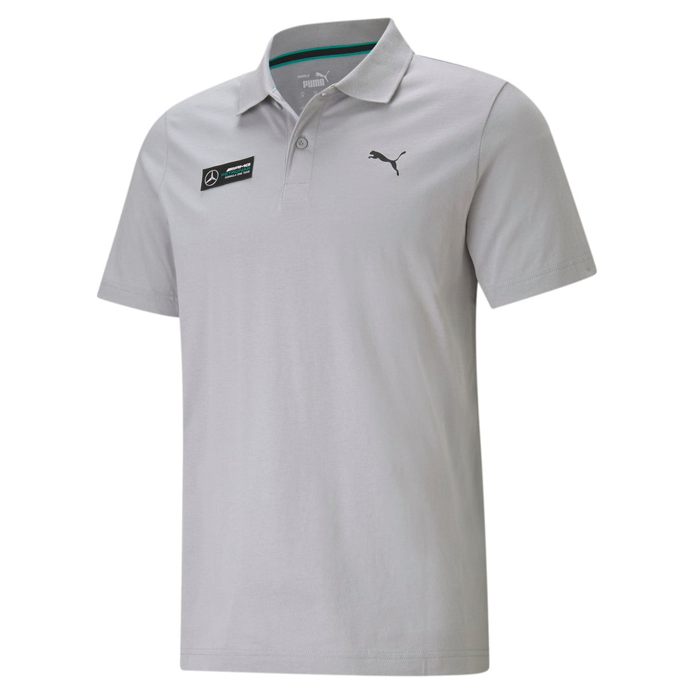 Image Puma Mercedes F1 Essentials Men's Polo Shirt #1