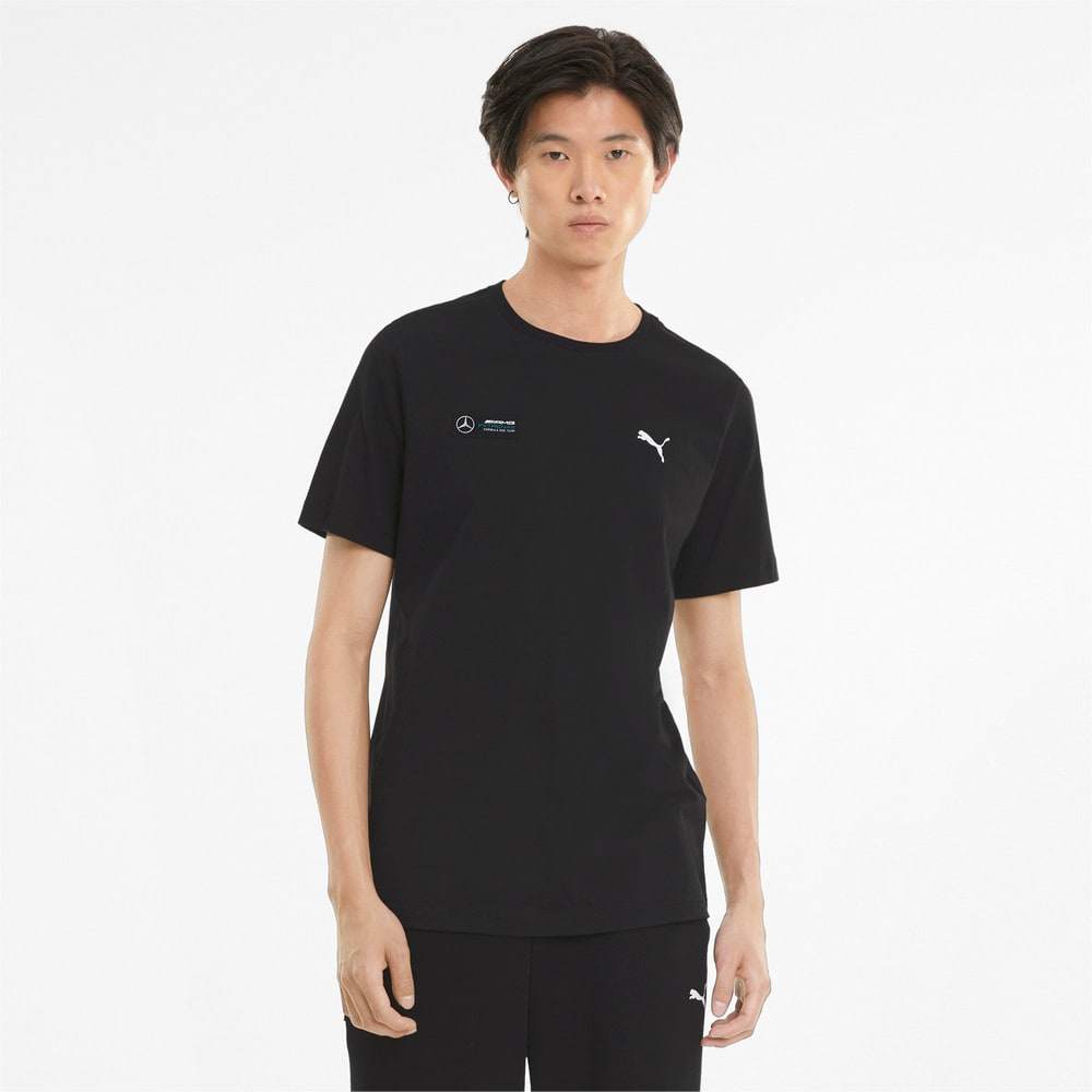Изображение Puma Футболка Mercedes F1 Essentials Men's Tee #1