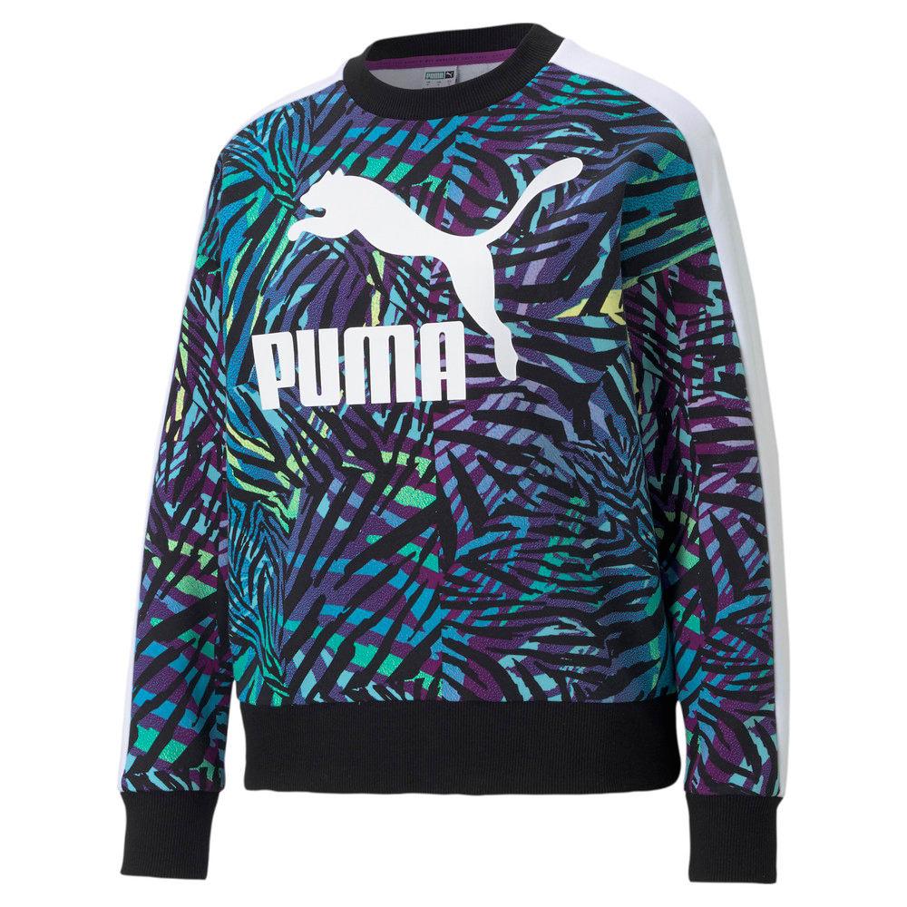 Görüntü Puma CG PRINTED Bisiklet Yaka Kadın Sweatshirt #1
