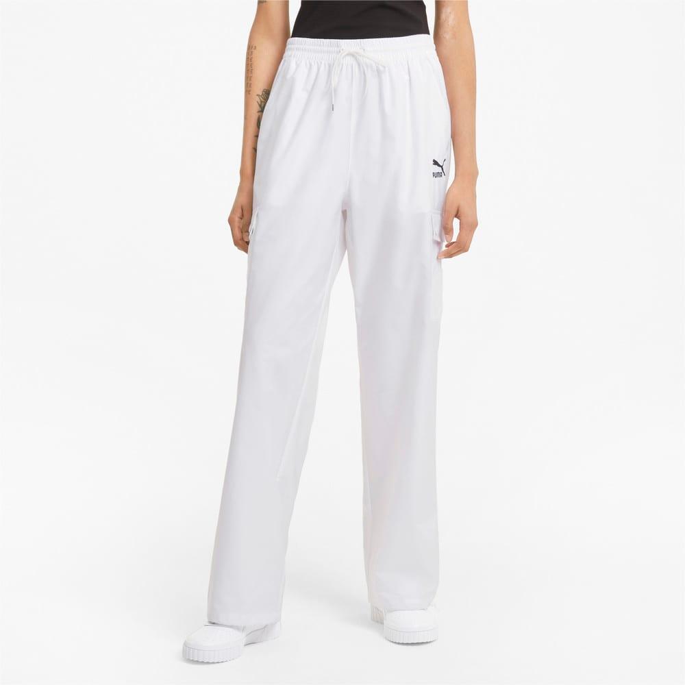 Imagen PUMA Pantalones estilo cargo para mujer Classics #1