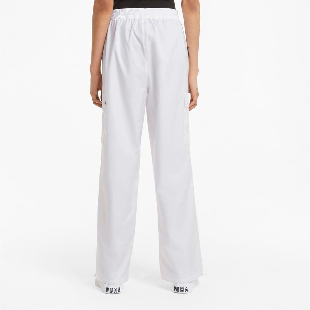 Imagen PUMA Pantalones estilo cargo para mujer Classics #2