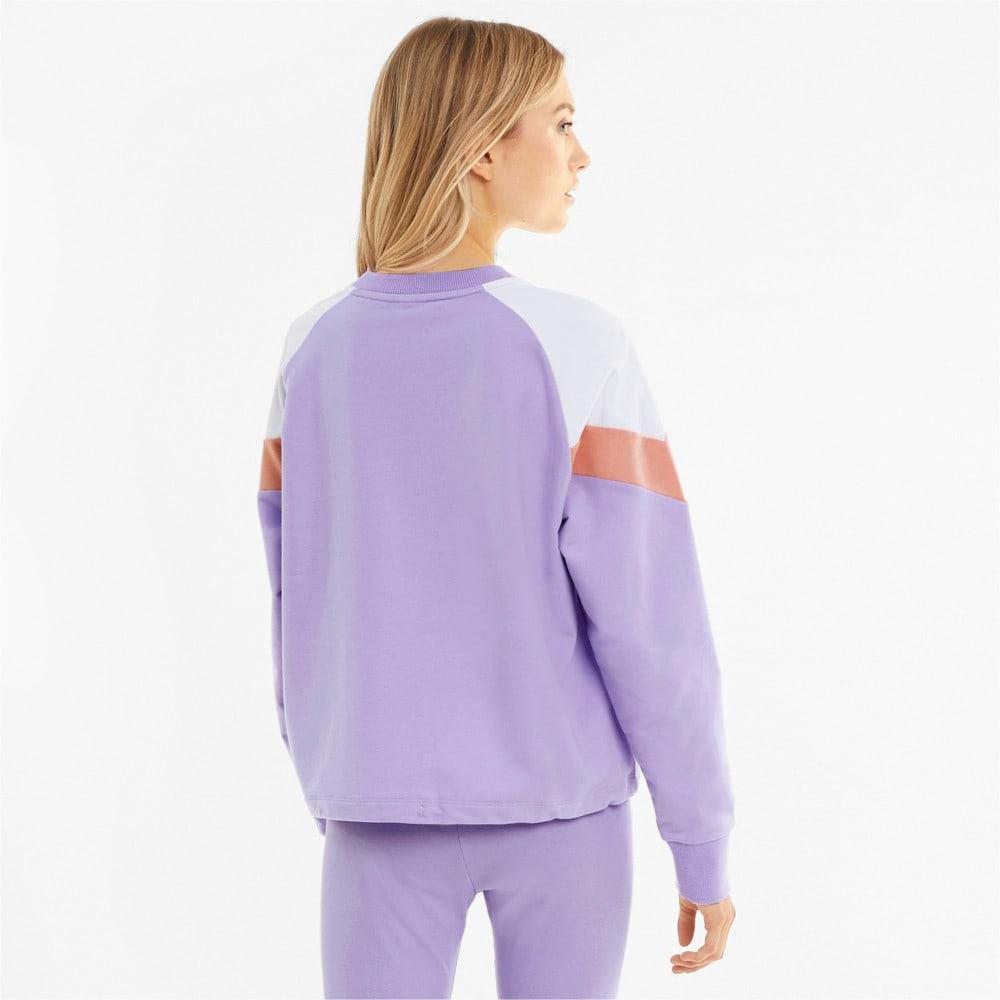 Image Puma Iconic MCS Cropped Crew Neck Women's Sweatshirt #2