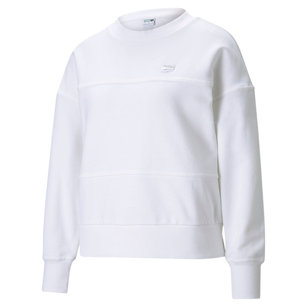 Изображение Puma Толстовка Downtown Crew Neck Women's Sweatshirt #1