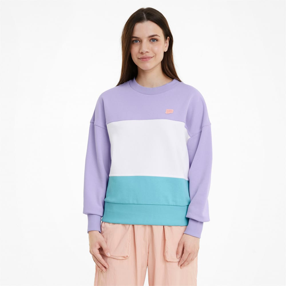 Зображення Puma Толстовка Downtown Crew Neck Women's Sweatshirt #1
