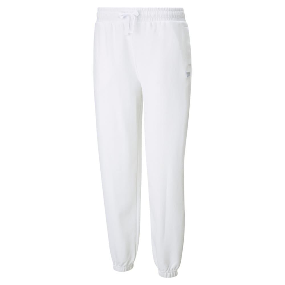 Изображение Puma Штаны Downtown Women's Sweatpants #1: Puma White