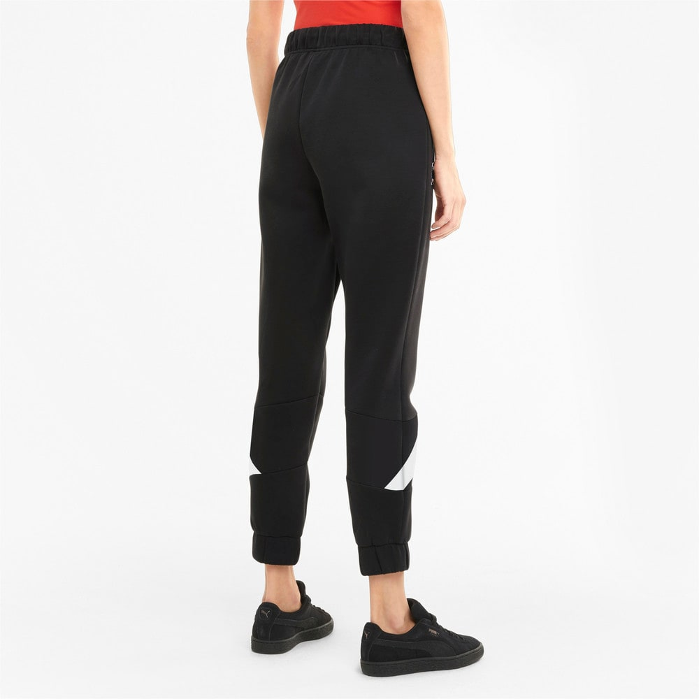 Imagen PUMA Pantalones deportivos de tejido de punto doble para mujer PUMA International #2