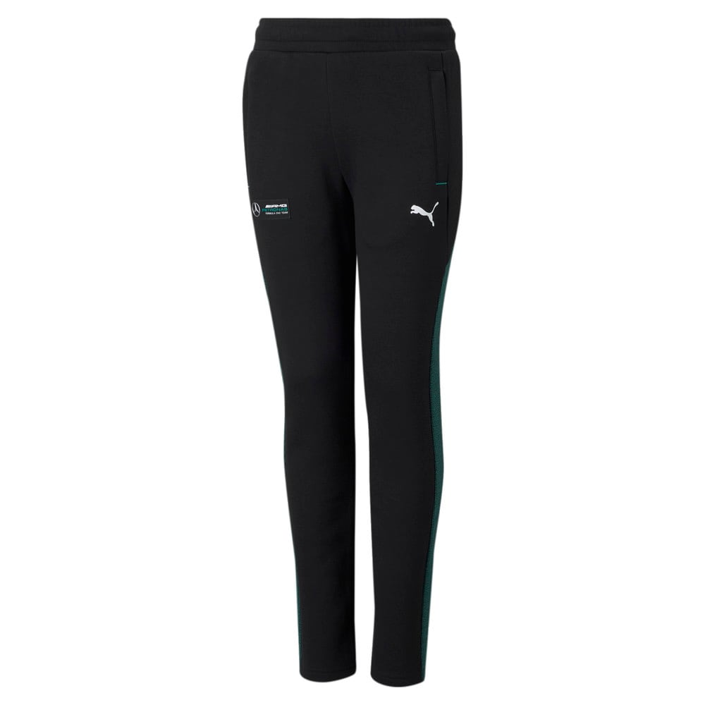 Изображение Puma Детские штаны Mercedes F1 Youth Sweatpants #1
