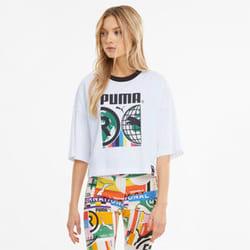 Camiseta con estampado para mujer PUMA International