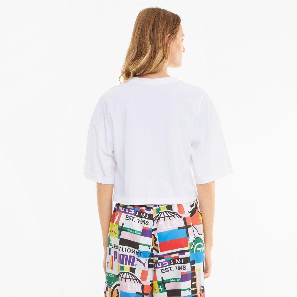 Imagen PUMA Camiseta con estampado para mujer PUMA International #2