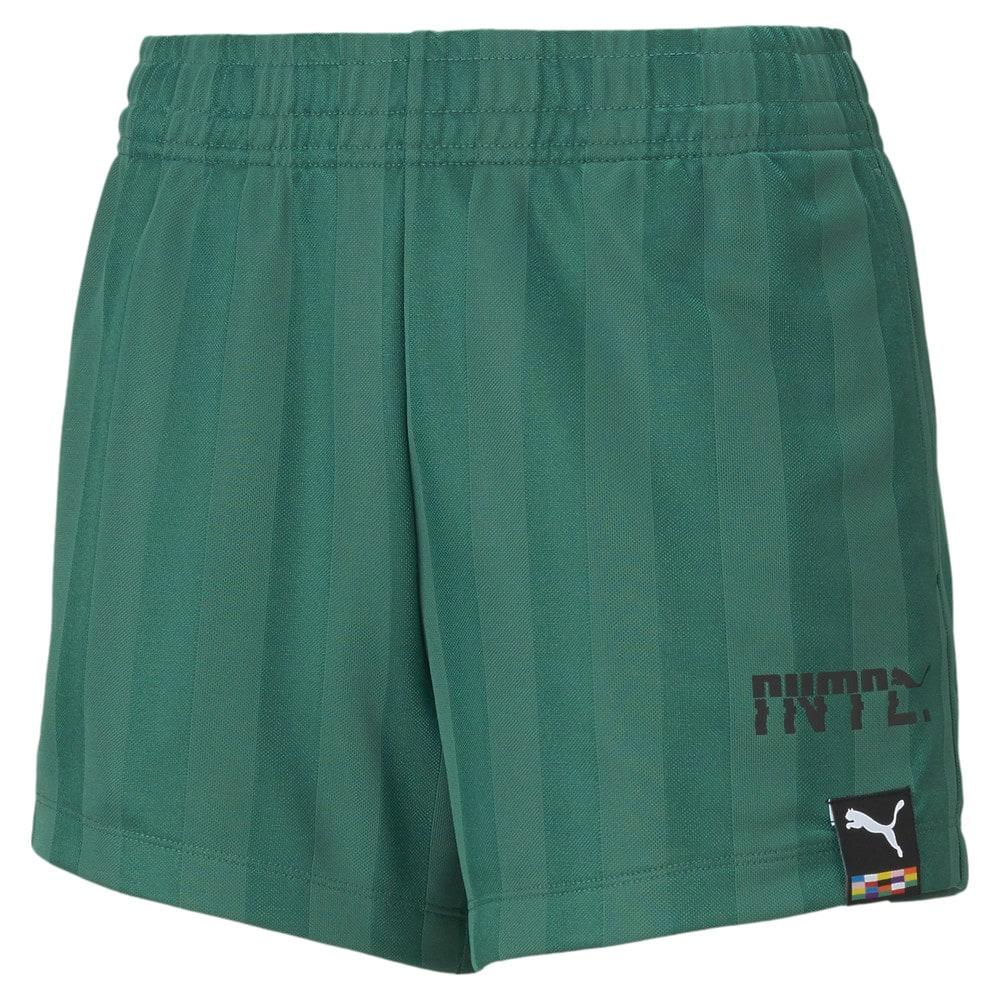 Зображення Puma Шорти PUMA International Polyester Jersey Women's Shorts #1: Blue Spruce