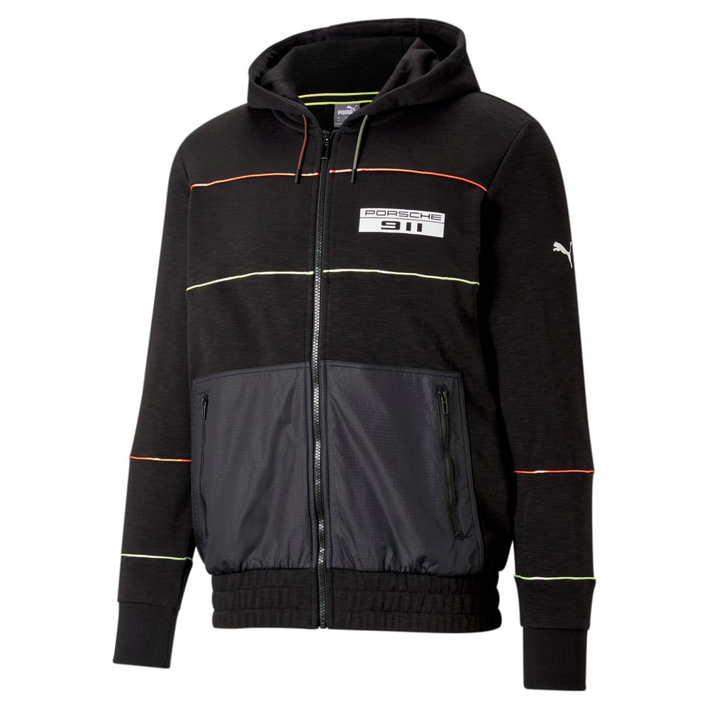 Изображение Puma Толстовка Porsche Legacy Hooded Men's Sweat Jacket #1