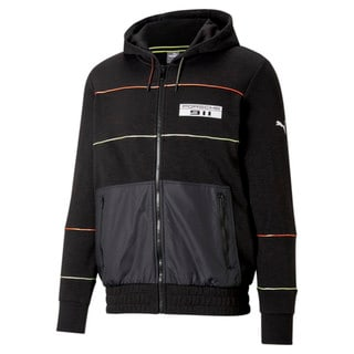 Изображение Puma Толстовка Porsche Legacy Hooded Men's Sweat Jacket