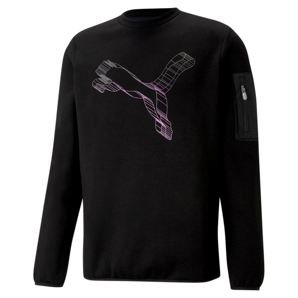 Зображення Puma Толстовка Avenir Double-Knit Crew Neck Men's Sweater #1