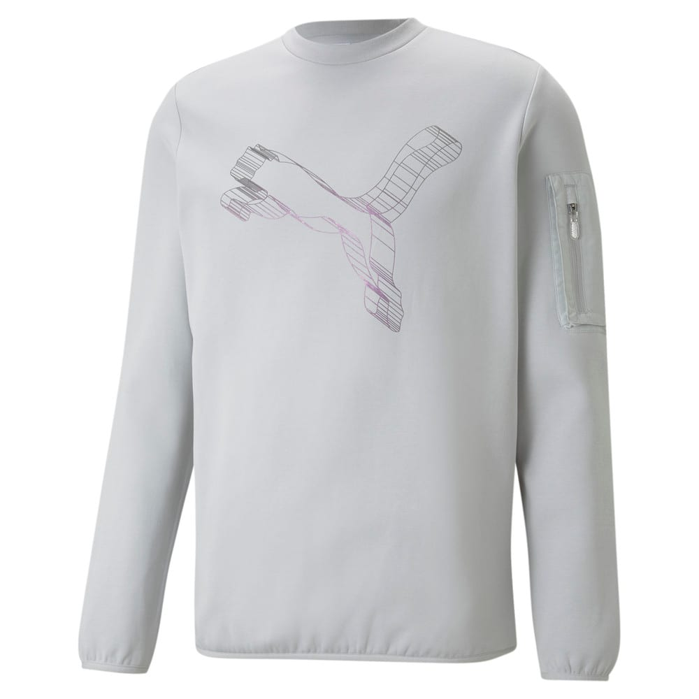 Изображение Puma Толстовка Avenir Double-Knit Crew Neck Men's Sweater #1