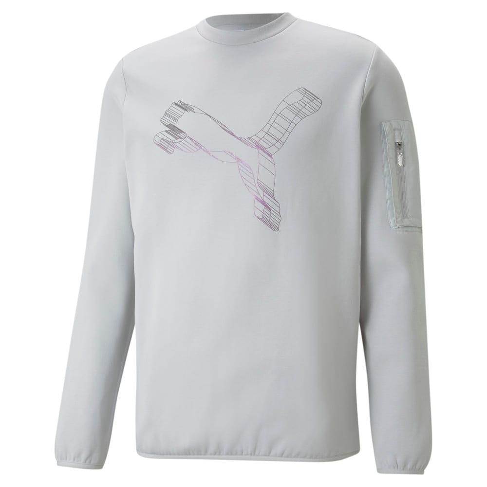 Image Puma Avenir Double-Knit Crew Neck Men's Sweater #1