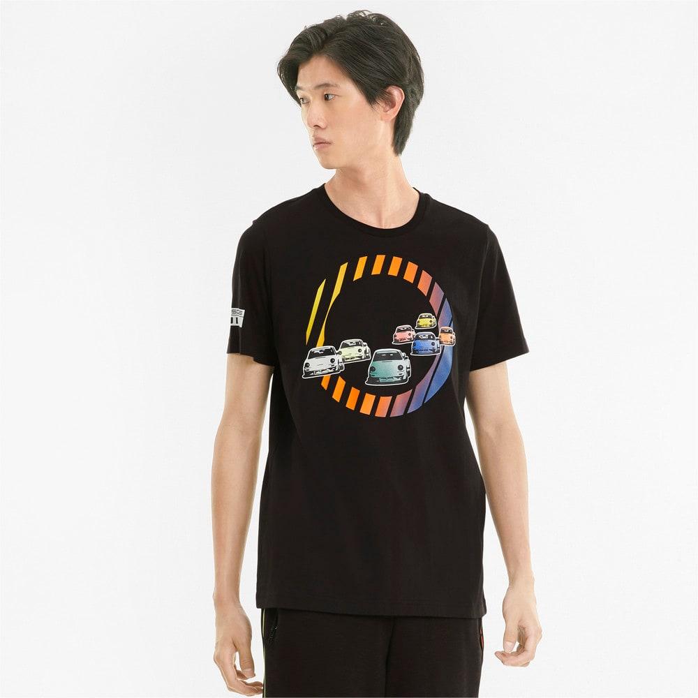 Görüntü Puma PORSCHE LEGACY GRAPHIC Erkek T-shirt #1
