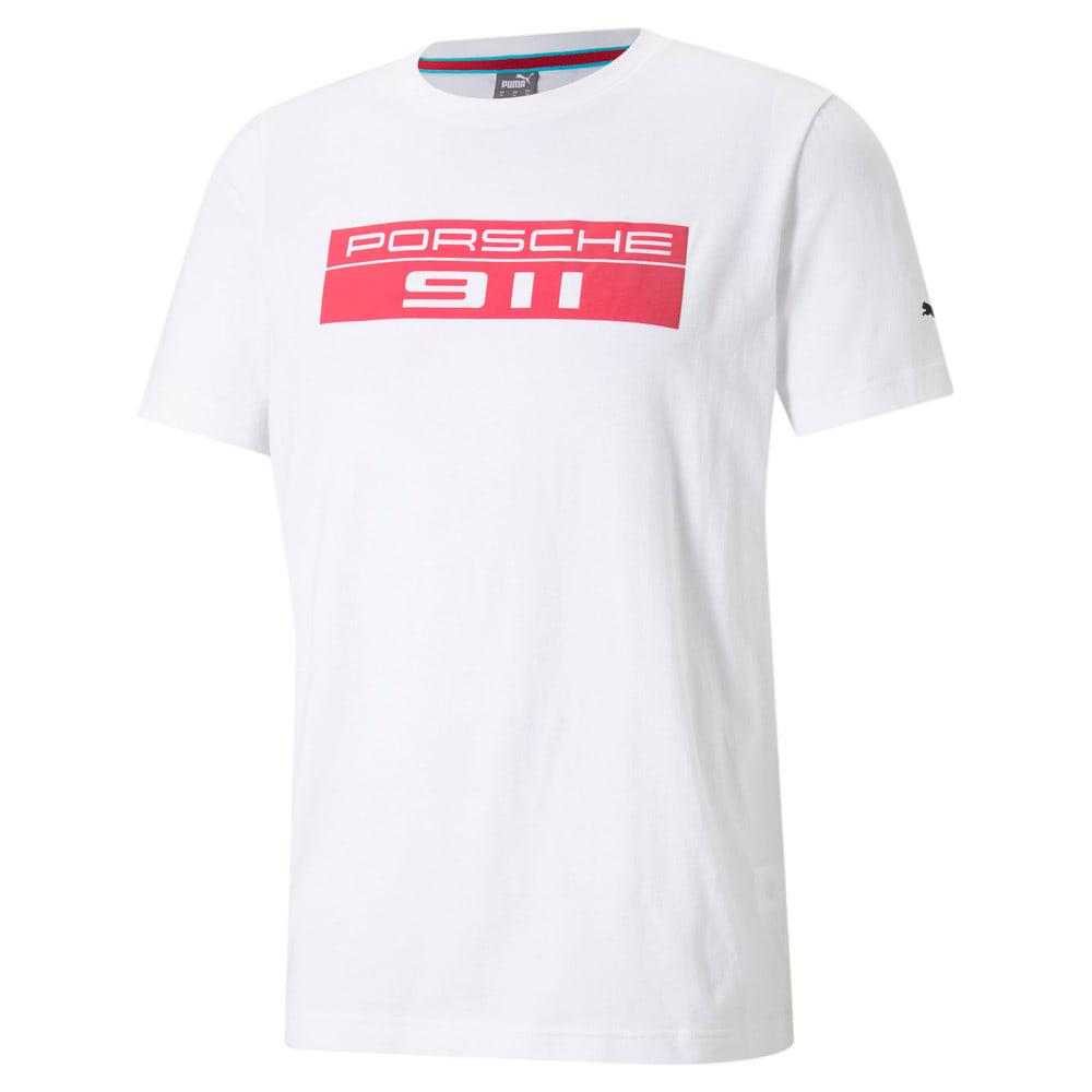 Изображение Puma Футболка Porsche Legacy Big Logo Men's Motorsport Tee #1