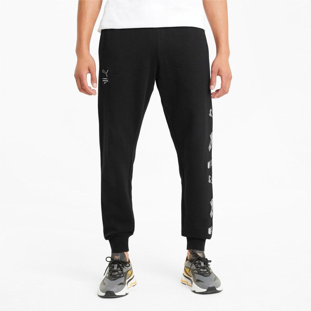 Изображение Puma Штаны Avenir Men's Sweatpants #1: Puma Black