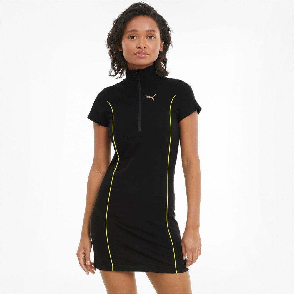 Изображение Puma Платье Evide Bodycon Women's Dress #1