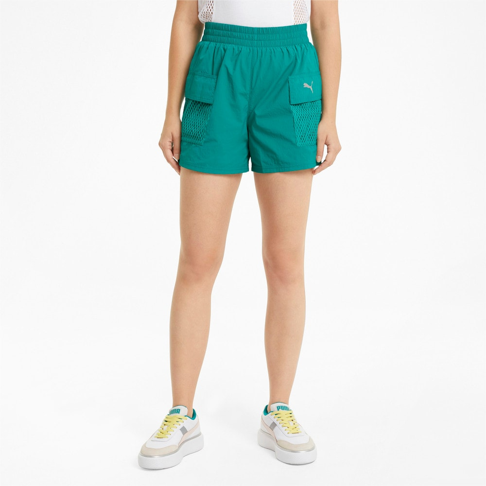 Изображение Puma Шорты Evide Woven Women's Shorts #1