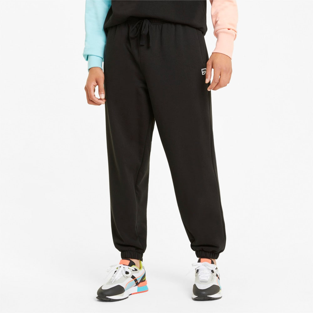Зображення Puma Штани Downtown Men's Sweatpants #1: Puma Black