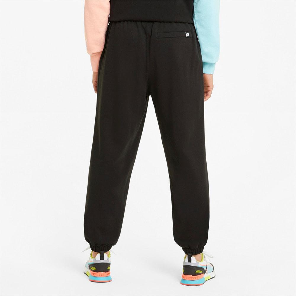 Зображення Puma Штани Downtown Men's Sweatpants #2: Puma Black