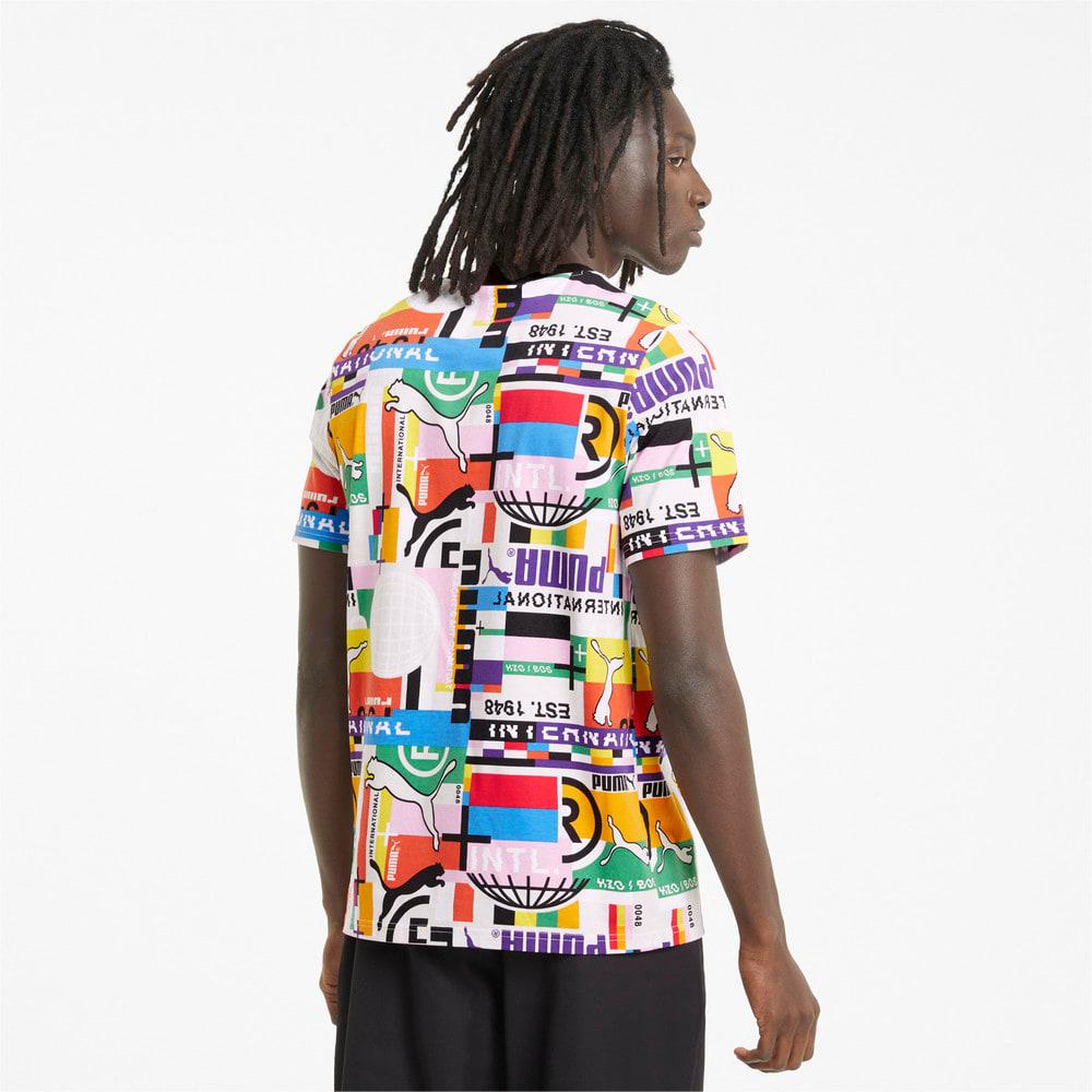 Görüntü Puma PUMA INTERNATIONAL Erkek T-shirt #2
