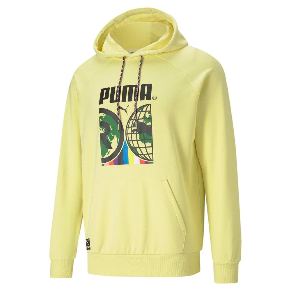 Görüntü Puma PUMA INTERNATIONAL GRAPHIC Erkek Kapüşonlu Sweatshirt #1