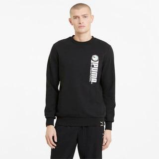 Изображение Puma Толстовка PUMA International Graphic Crew Neck Men's Sweater
