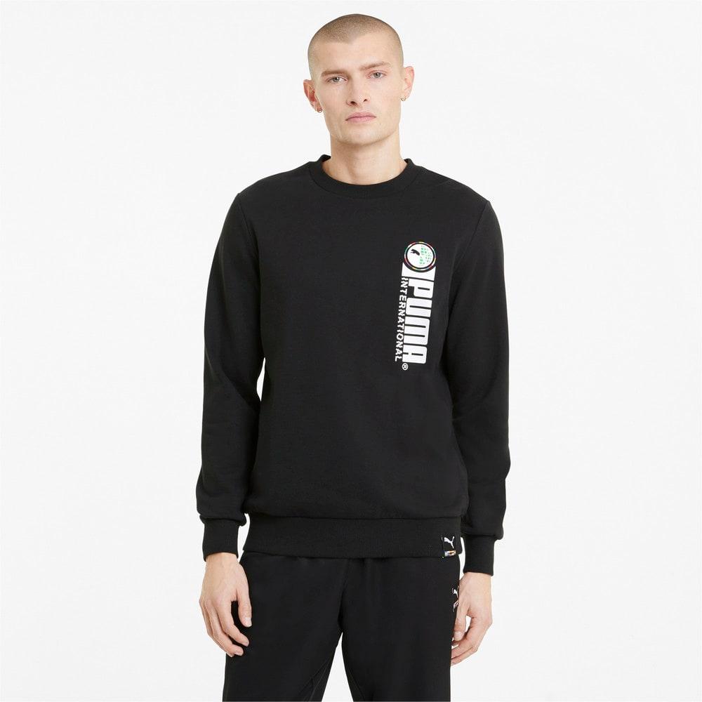Зображення Puma Толстовка PUMA International Graphic Crew Neck Men's Sweater #1: Puma Black