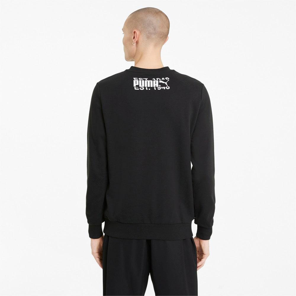 Зображення Puma Толстовка PUMA International Graphic Crew Neck Men's Sweater #2: Puma Black
