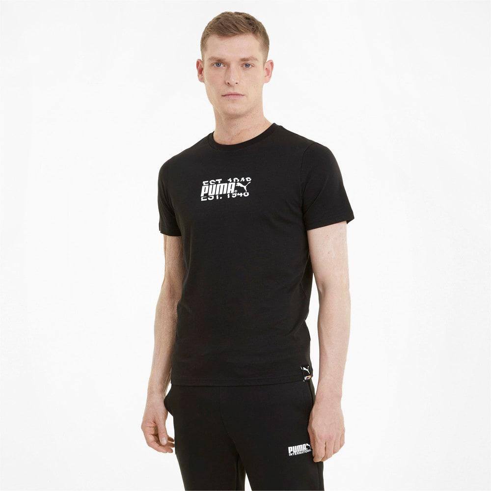 Görüntü Puma PUMA INTERNATIONAL Erkek T-shirt #1