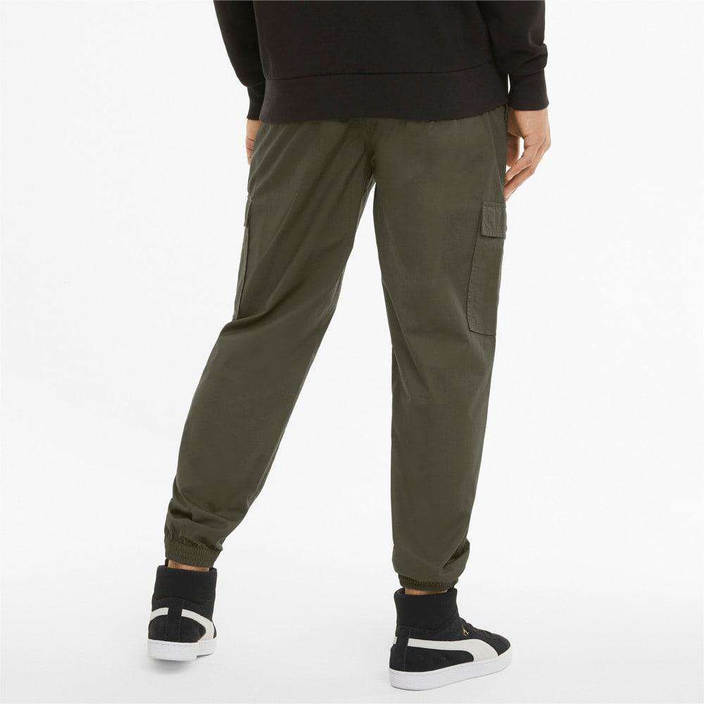 Изображение Puma Штаны Classics Cotton Twill Men's Sweatpants #2: Forest Night