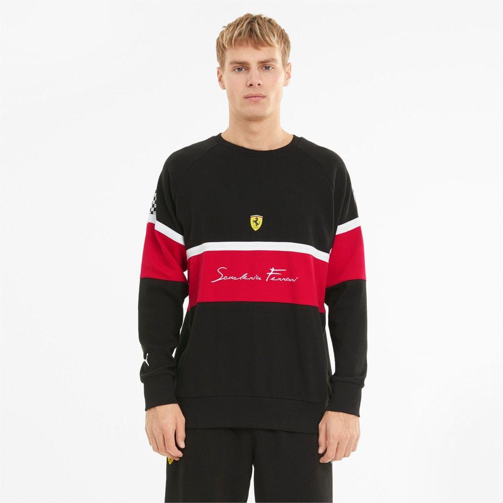 Image Puma Scuderia Ferrari Crew Neck Men's Sweater #1