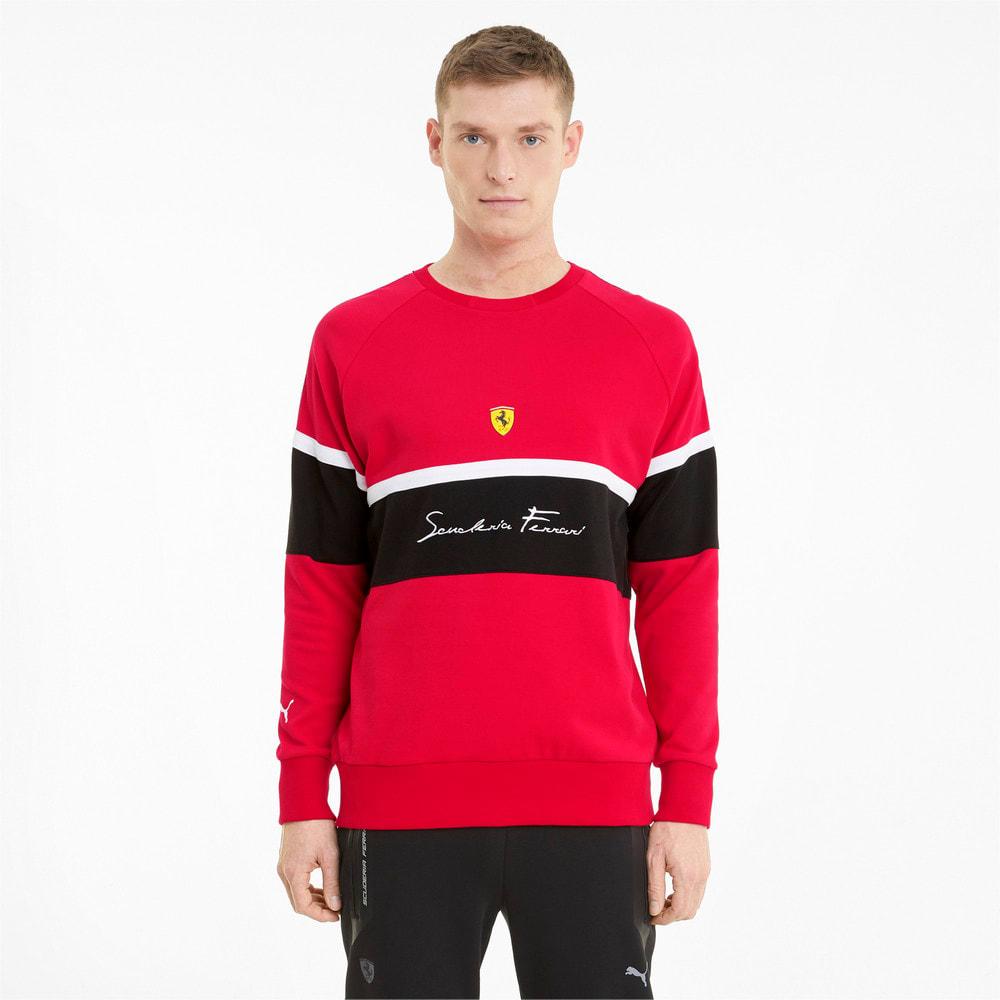 Imagen PUMA Polerón de cuello redondo para hombre Scuderia Ferrari XTG #1