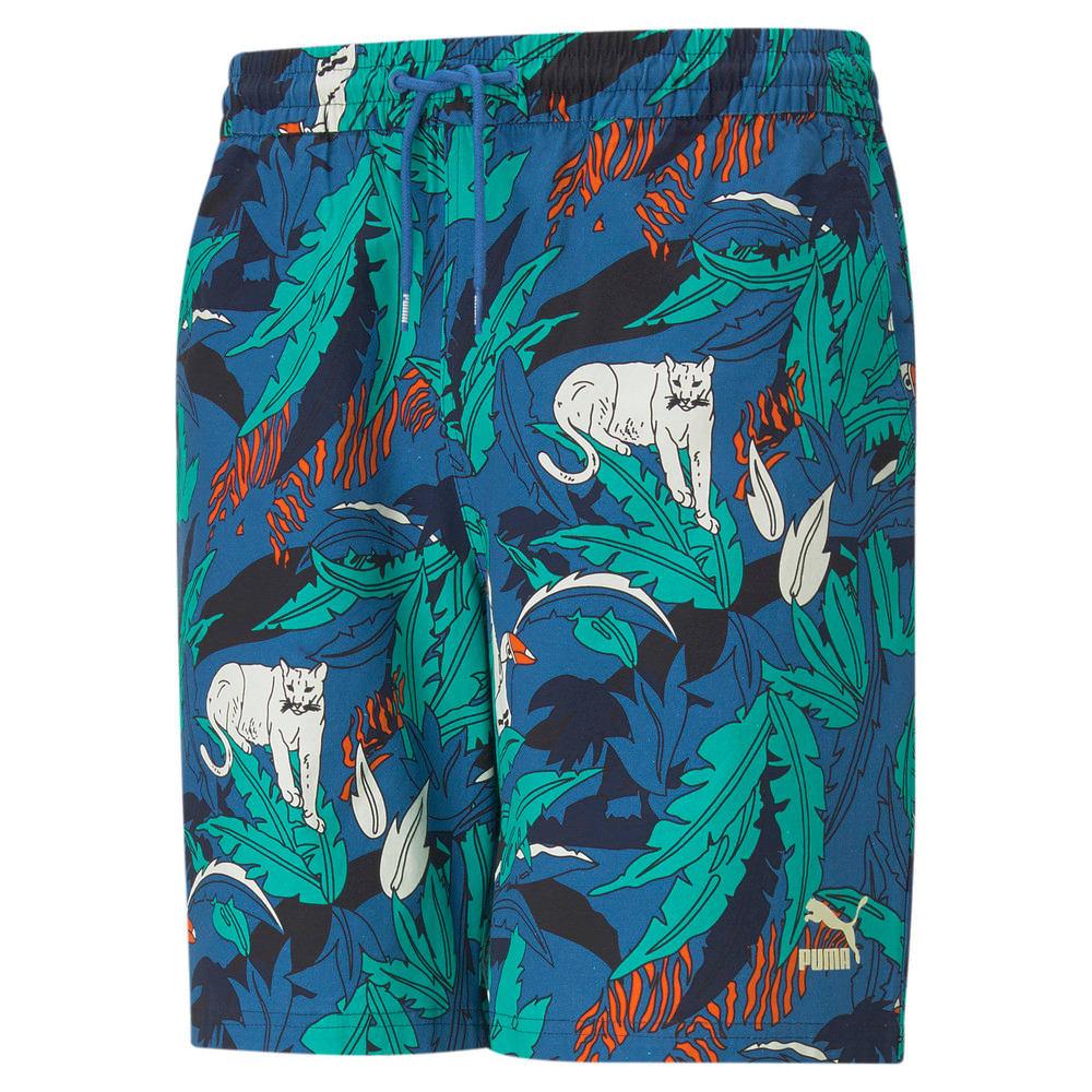 Imagen PUMA Shorts estampados para hombre Classics #1