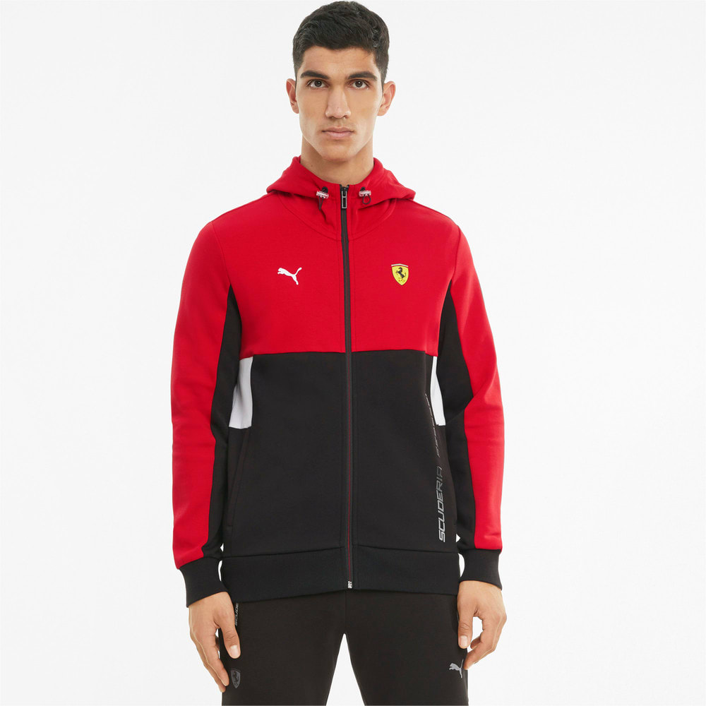 Изображение Puma Толстовка Scuderia Ferrari Race Hooded Men's Sweat Jacket #1